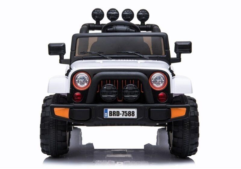 Jeep na Akumulator 4x4 Biały baby-zone