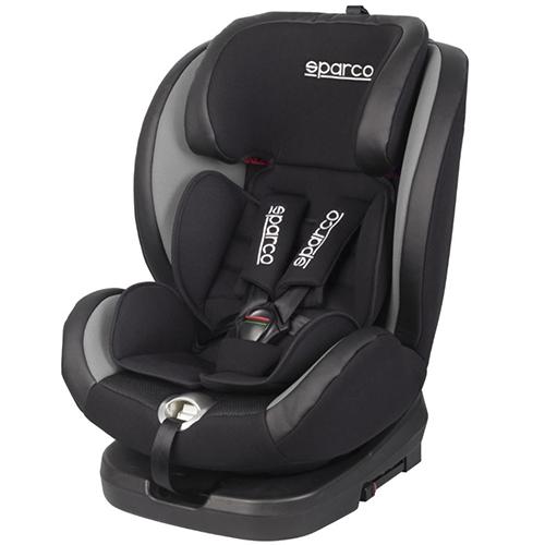 Fotelik samochodowy, SK600 Obrót 360° Isofix 0-36 kg Szary Sparco, baby-zone.pl