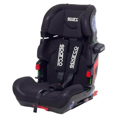 Fotelik samochodowy, SK800i Isofix 9-36 kg Czarny Sparco baby zone