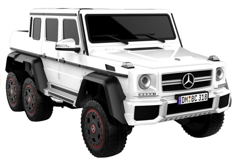 Mercedes G63 na Akumulator Biały, baby-zone.pl