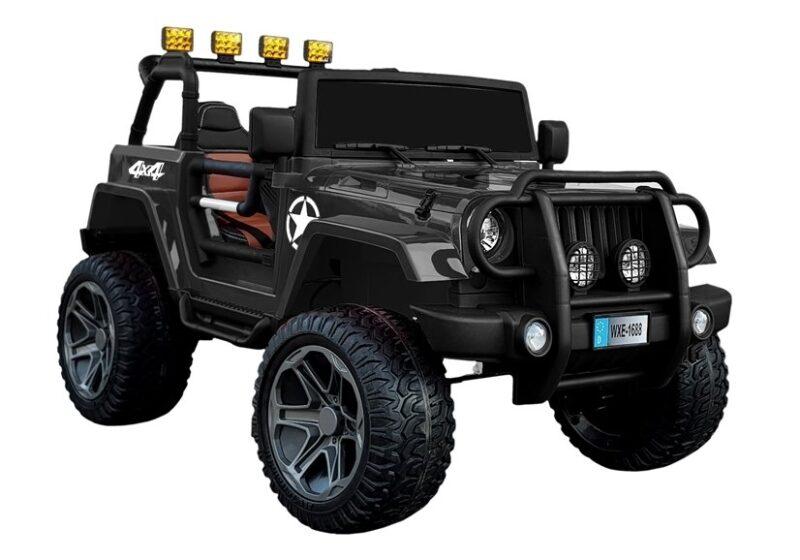 Jeep na Akumulator WXE-168 Czarny, baby-zone.pl
