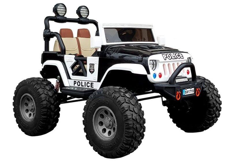 Jeep 4x4 na Akumulator czarny, baby-zone.pl