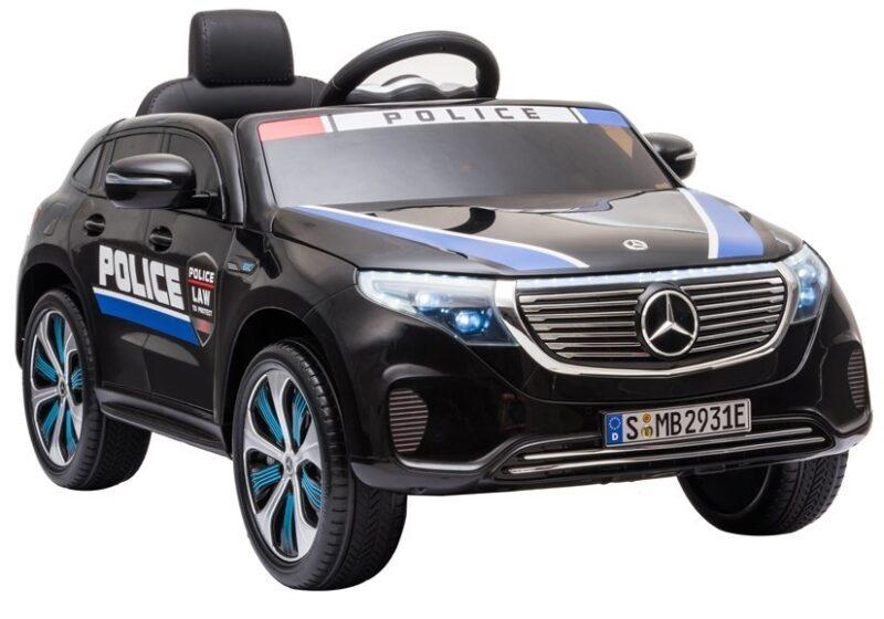Mercedes EQC 400 na Akumulator Policja Czarny, baby-zone.pl