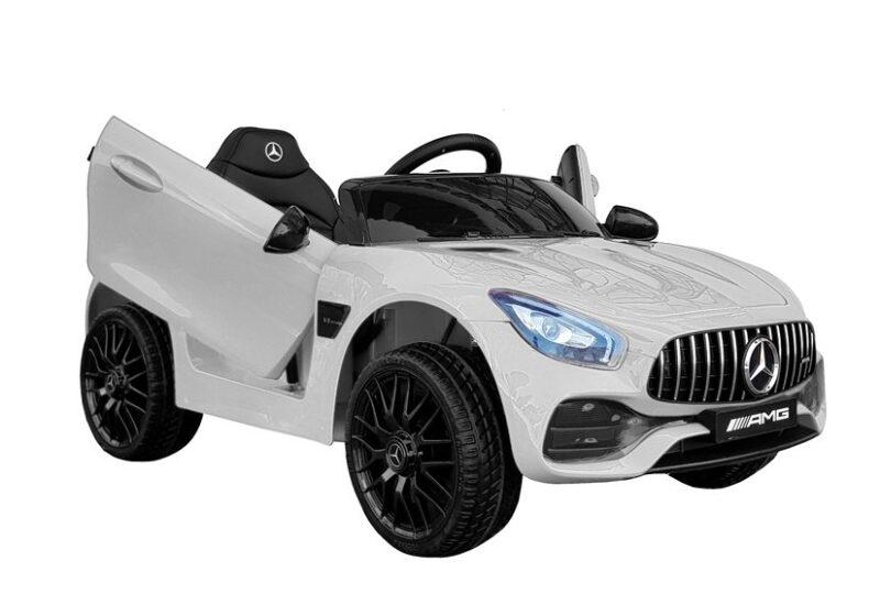Mercedes AMG GT R na akumulator biały, baby-zone.pl