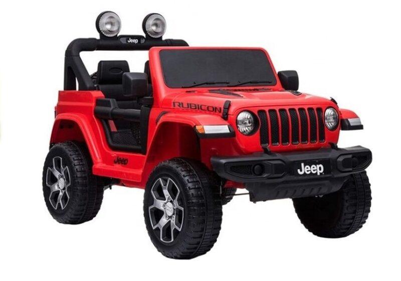Jeep Rubicon 4x4 na Akumulator Czerwony, baby-zone.pl