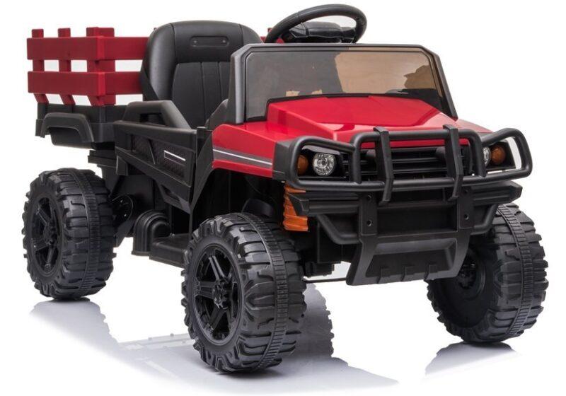 Jeep na akumulator BDM092 Czerwony, baby-zone.pl